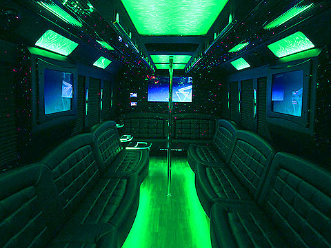 Limo Bus Houston, Limo BUses, Party BUses